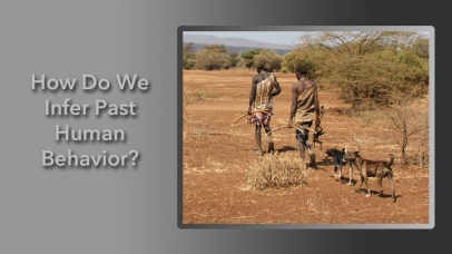 How Do We Infer Past Human Behavior?